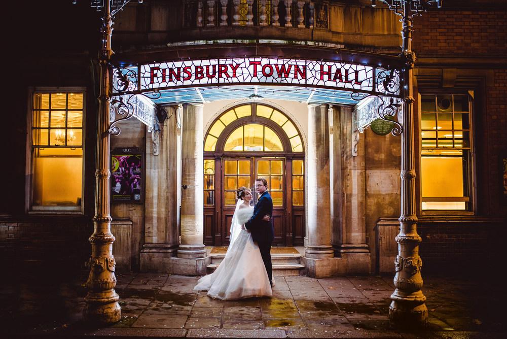 Old Finsbury Town Hall, Old Finsbury Town Hall Wedding| London – Francesca and Hutch